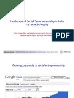 Landscape of Social Entrepreneurship in India - Madhukar Shukla