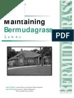 PUB Turf Maintaining Bermudagrass Lawns
