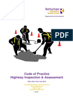 Code of Practice Highway Inspection