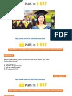 PMP Study Material