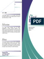Legal Project Brochure English