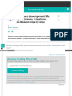Software Development Life Cycle ( Step by Step Process)