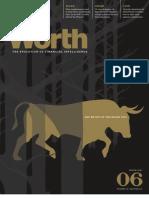 WORTH Magazine Article Issue 6