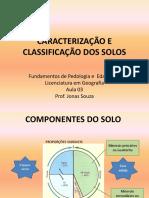 Aula 3 - Caracterização e Classificação Dos Solos
