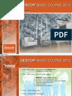 DESCOR Basic Course 2012