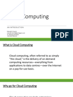 Cloud Computing Pentagon Manish Karnik