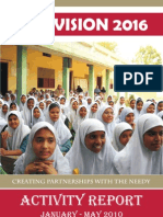 Vision 2016 Activity Report Jan - May 2010