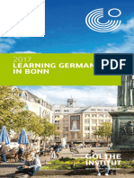 Learning German in Bonn 20173