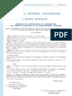 Décret 2010-689 taxe 340 euros conjoints de Français 24 juin 2010