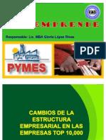 CAMBIOS DE LA ESTRUCTURA