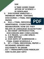 Deadline Task