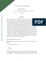EconoPhysics - A New Discipline