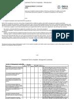 2.3 Assessment Tool