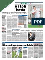 TuttoSport 04-01-2016 - Calcio Lega Pro