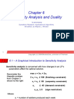 Ch 06 Sensitivity Analysis and Duality