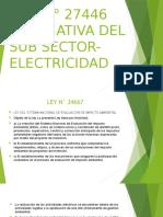 LEY N° 27446