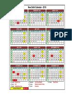 Calendar 2016 FDIPL