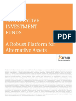Alternative Investment Funds a Robust Platform for Alternative Assets