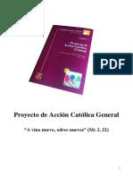 Proyecto ACG 2014 - A Vino Nuevo, Odres Nuevos