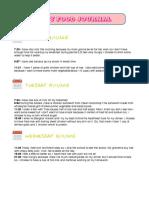 food journal pdf