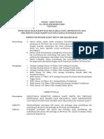 Surat Keputusan Hak Pasien Dan Keluarga