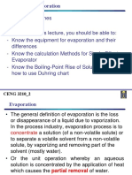 CENG3210 Lecture 2 Evaporation