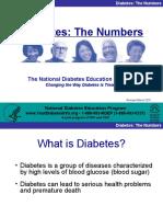 Diabetes the Numbers