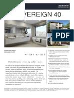 Floorplan Sovereign 40
