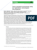 Acoustic Monitoring in Terrestrial Environments