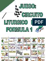 Juego Circuito Liturgico de Formula 1