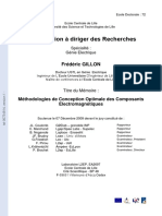 HDR2009 Rapport Frederic GILLON