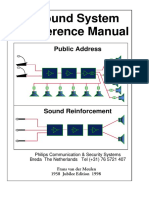 Sound System Reference Sound-philips