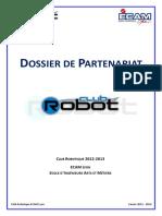 Dossier Sponsoring 2012-2013