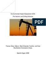 Apache Egypt 2008 EIA Pre-Seismic and Drilling Activities