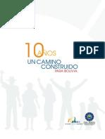 10 años FAM-Bolivia