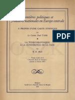 Le mal français - méchanceté - Traité de Trianon