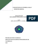 RPKPS Manajemen Pemasaran Farmasi