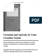 Germania and Agricola