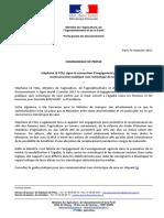 170104 CP Signature Convention d'Engagement Pour Une Communication Publique Sans Stéréotypes