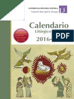 2016-2017 Calendario Liturgico
