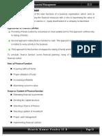 finance management topics.doc