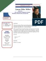 Mike Miller newsletter