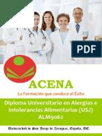 Diploma Universitario Alergias Intolerancias Alimentarias