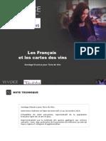 Rapport Cartes Des Vins 25-10-2016