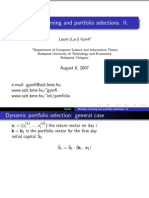 Machine Learning and Finance II