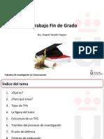 PRÁCTICA 1 EL TRABAJO FIN DE GRADO