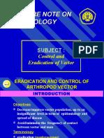 Vector Control & Eradication