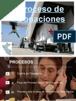 Proceso de Donaciones
