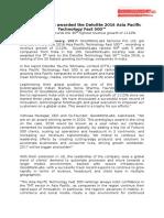 GoodWorkLabs Wins Deloitte Fast 500 APAC_ Press Release