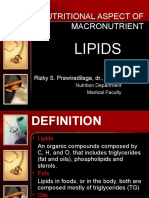 Nutritional Aspect of Macronutrient